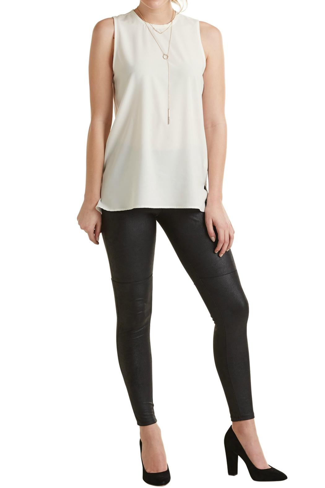 Mud Pie Sleeveless Layering Top - Front Cropped Image