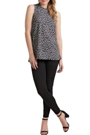 Mud Pie Sleeveless Leopard Top - Front cropped