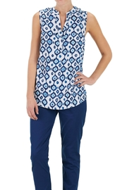 Mud Pie Sleeveless Tunic Top - Front cropped
