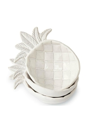Mud Pie Small Pineapple Bowl - Front cropped
