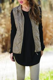 Mud Pie Spencer Quilted Vest - Product Mini Image