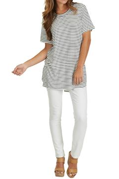 Shoptiques Product: Stripe Jersey Tunic