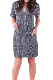 Mud Pie Stripe Shift Dress - Product Mini Image