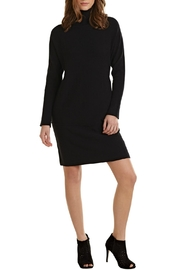 Mud Pie Turtleneck Sweater Dress - Front cropped