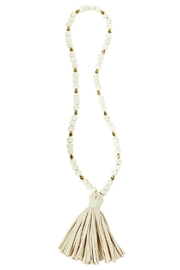 Mud Pie Tassel Necklace - Product Mini Image