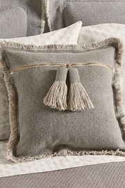 Mud Pie Tassel Throw Pillow - Product Mini Image