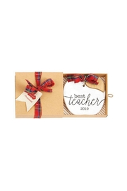 Mud Pie Teacher Ceramic Ornament - Product Mini Image