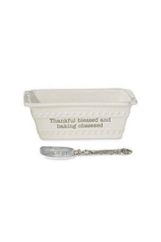 Mud Pie Thankful Baker Set - Front cropped