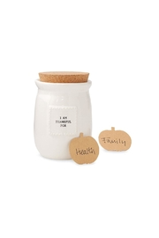 Mud Pie Thankful Blessing Jar - Product Mini Image