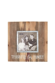 Mud Pie Thankful Frame - Front cropped