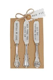 Mud Pie Thanks Giving Spreader Set - Product Mini Image