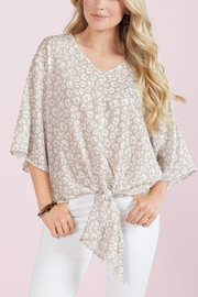 Mud Pie Tie Front Top - Front cropped