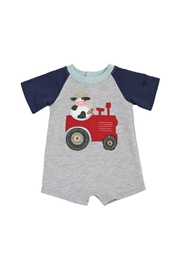 Mud Pie Tractor Shortall Onesie - Product Mini Image