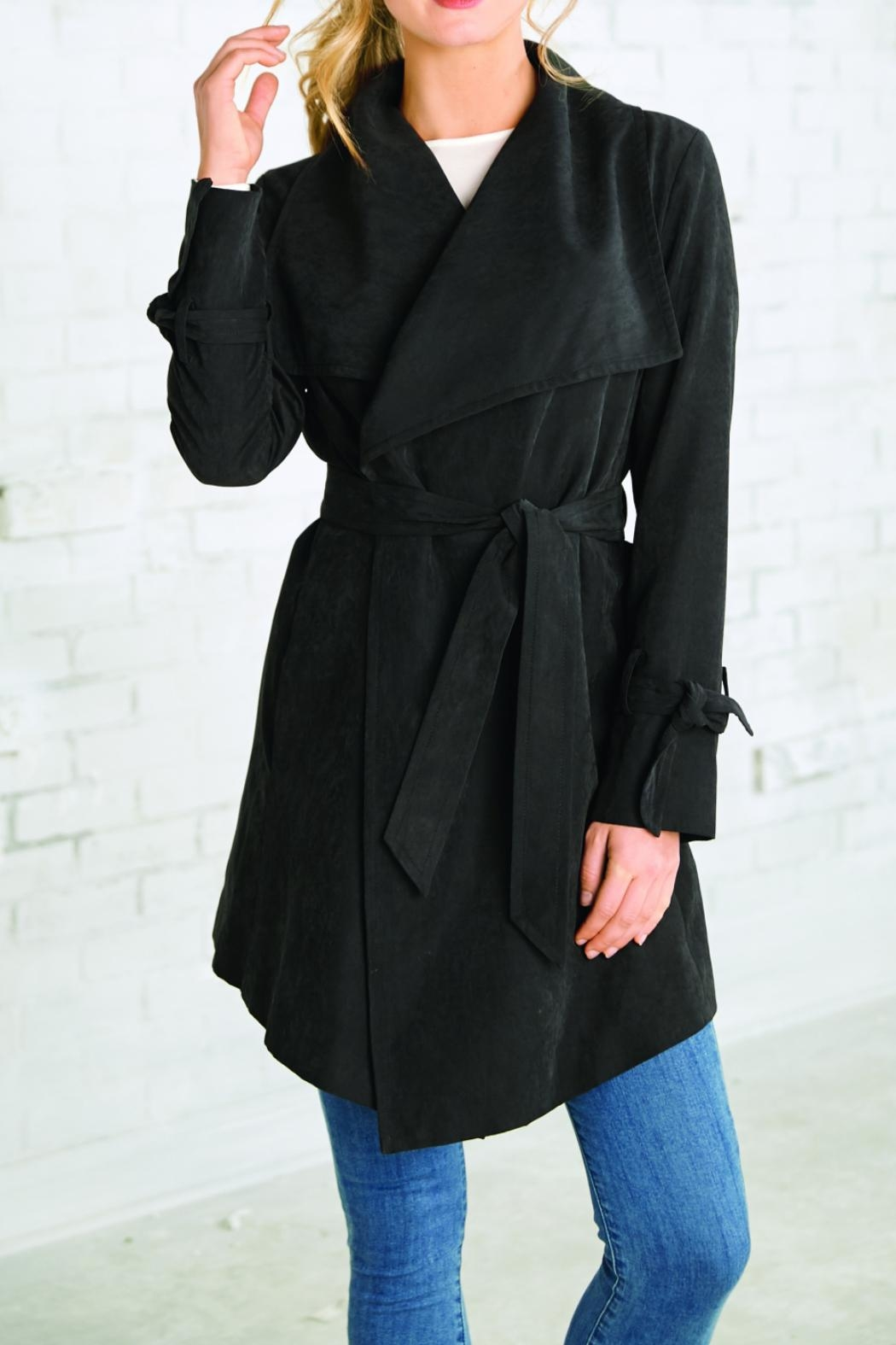 Mud Pie Trench-Style Jacket - Front Full Image