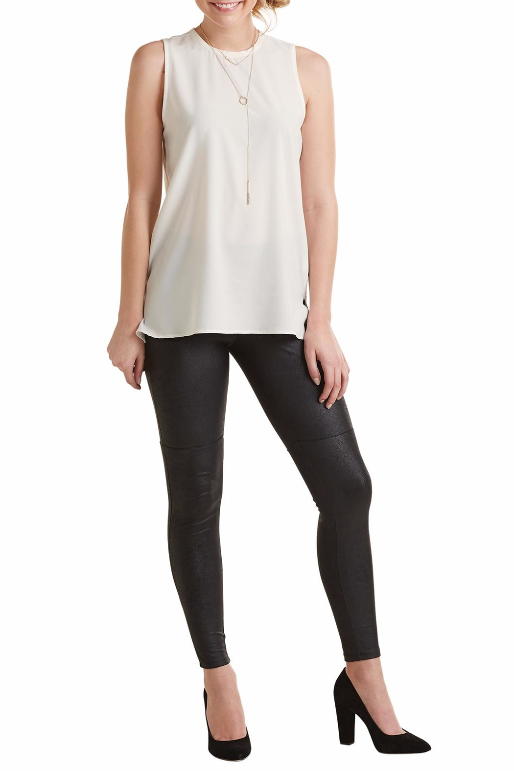 Mud Pie Trip Sleeveless Top - Front Cropped Image