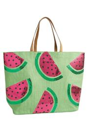 Mud Pie Tropical Dazzle Tote Bag - Product Mini Image