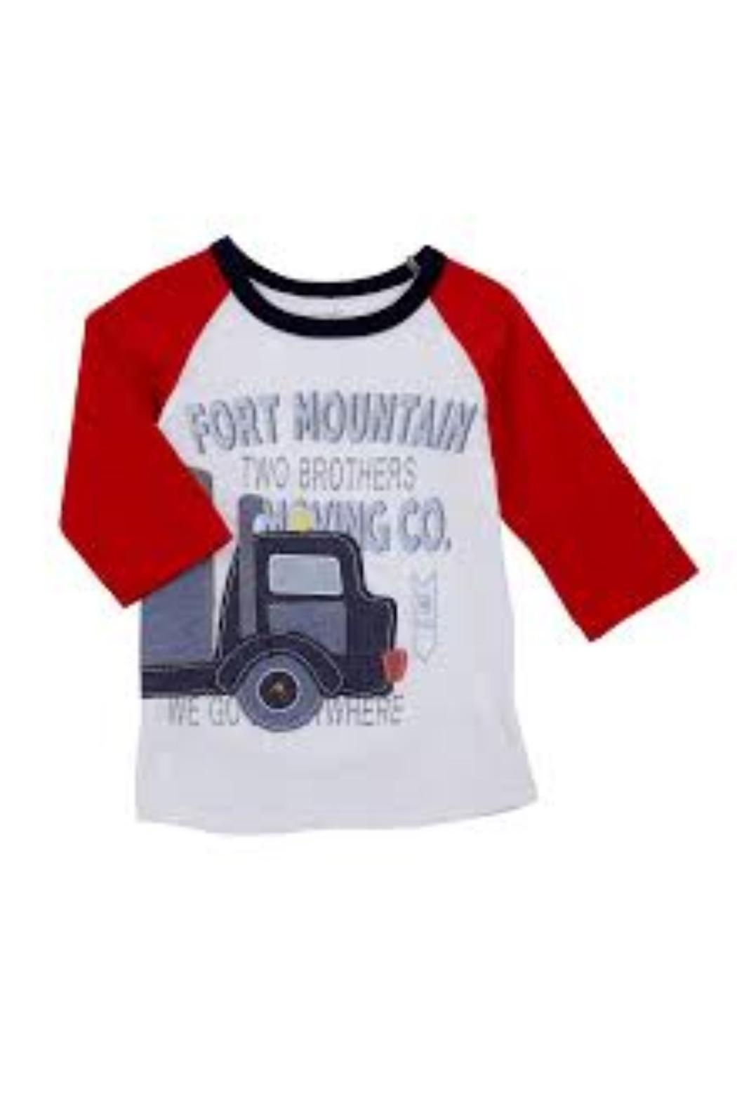 Mud Pie Truck Tee Shirt - Side Cropped Image