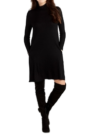 Mud Pie Turtleneck Jersey Dress - Product Mini Image