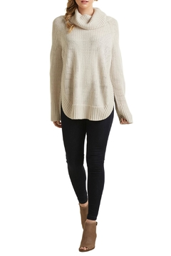 Shoptiques Product: Ivory Cowl Sweater