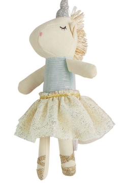 Shoptiques Product: Blue Unicorn Rattle