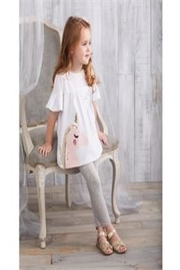 Mud Pie Unicorn Tunic Leggings - Product Mini Image
