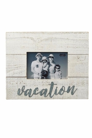 Mud Pie Vacation Frame - Front cropped