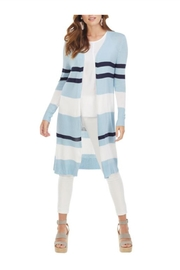 Mud Pie Vince Striped Cardigan - Product Mini Image