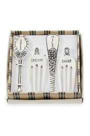 Mud Pie Vintage Fork Cheese Marker Set - Product Mini Image
