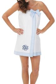 Mud Pie Waffle Weave Towel Wrap - Front cropped