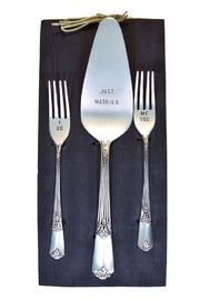 Mud Pie Wedding Cake Server Set - Product Mini Image