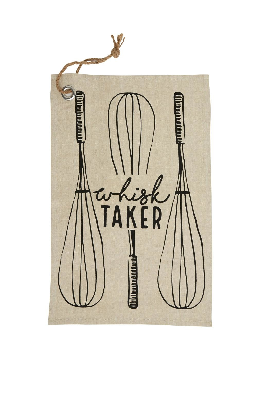 Mud Pie Whisk Taker Towel - Main Image