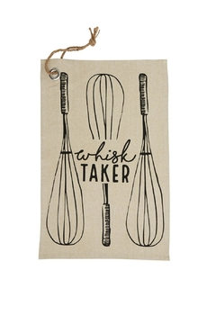 Mud Pie Whisk Taker Towel - Product List Image