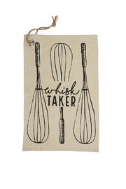 Mud Pie Whisk Taker Towel - Front cropped