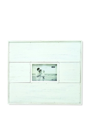 Mud Pie White Distressed Frame - Product Mini Image