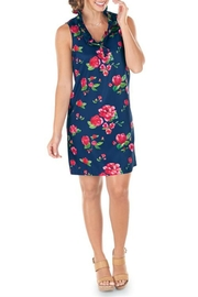 Mud Pie Whitney Floral-Ruffle Dress - Product Mini Image