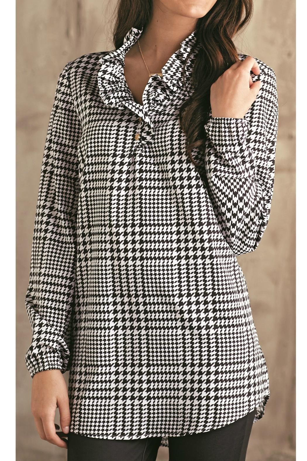 6c026c3ad7e Mud Pie Whitney Houndstooth Tunic from Georgia by Southern Flair ...