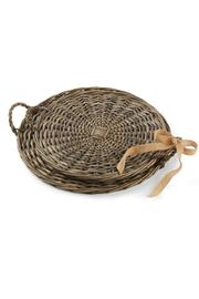 Mud Pie Willow Tray Set - Product Mini Image