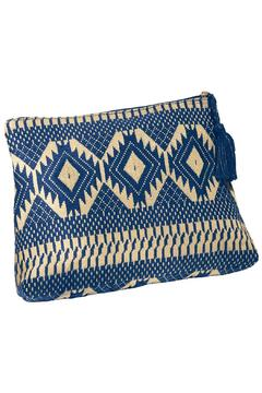 Mud Pie Woven Clutch - Product List Image