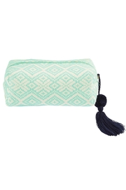 Mud Pie Woven Cosmetic Case - Product Mini Image