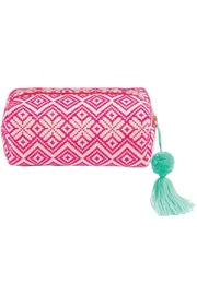 Mud Pie Woven Cosmetic Case - Front cropped