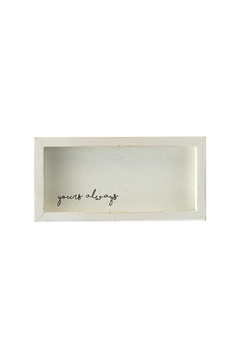 Shoptiques Product: Yours Always Love Plaque