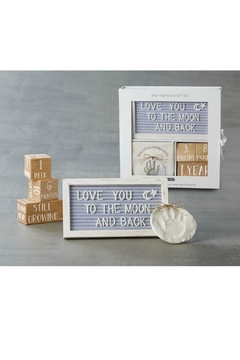 Mud Pie Gift Baby Keepsake Gift Box - Product List Image