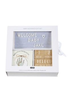 Mud Pie Gift Baby Keepsake Gift Box - Alternate List Image