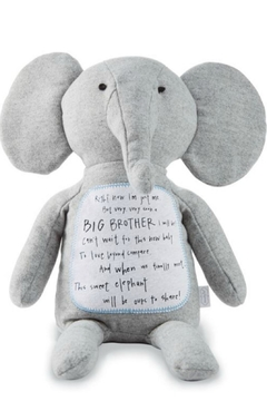 Mud Pie Gift Big Brother Elephant - Product List Image