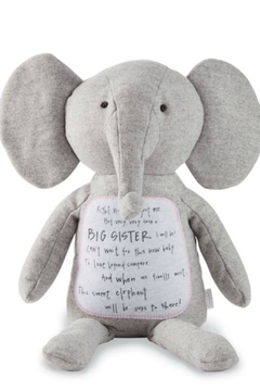 Mud Pie Gift Big Sister Elephant - Product List Image