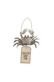 Mud Pie Gift Crab Bottle Tag - Front cropped