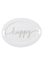 Mud Pie Gift Large Happy Platter - Product Mini Image