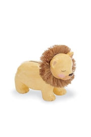 Mud Pie Gift Lion Bank - Front cropped