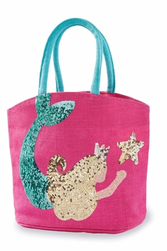 Mud Pie Gift Mermaid Dazzle Tote - Alternate List Image