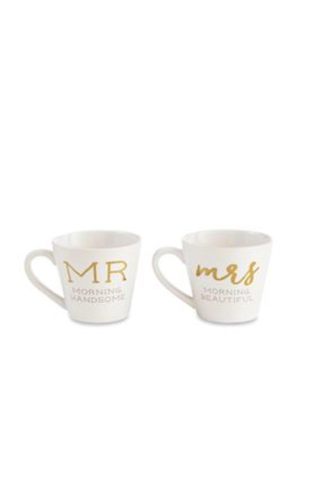 Mud Pie Gift Mr. & Mrs. Mugs - Front Cropped Image